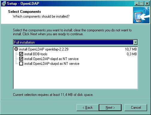 Ldap Install